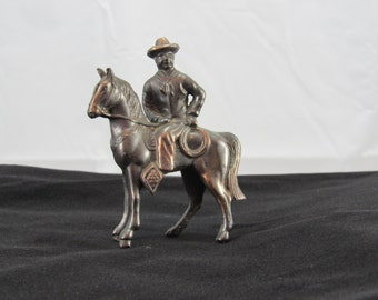 Rare carnival horse with rider vintage