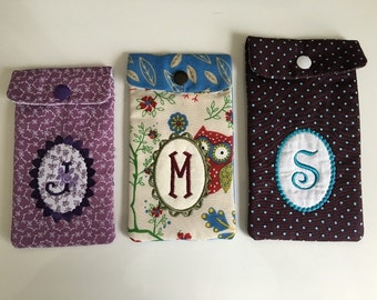 NNC ITH phone Pouches - 5x7, 8x8, 6x10 hoops in all popular formats