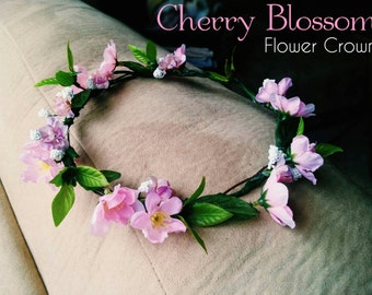 Cherry Blossom Flower Crown