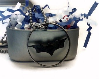 Batman The Dark Knight Cut Coin Pendant