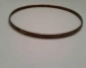 Vintage Copper  Bangle Boho Jewelry