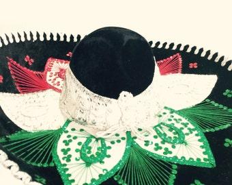 Mexican embroiled hat, 5 de mayo, sombrero,
