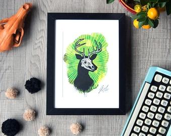 OhDeer A5 digital mini-print