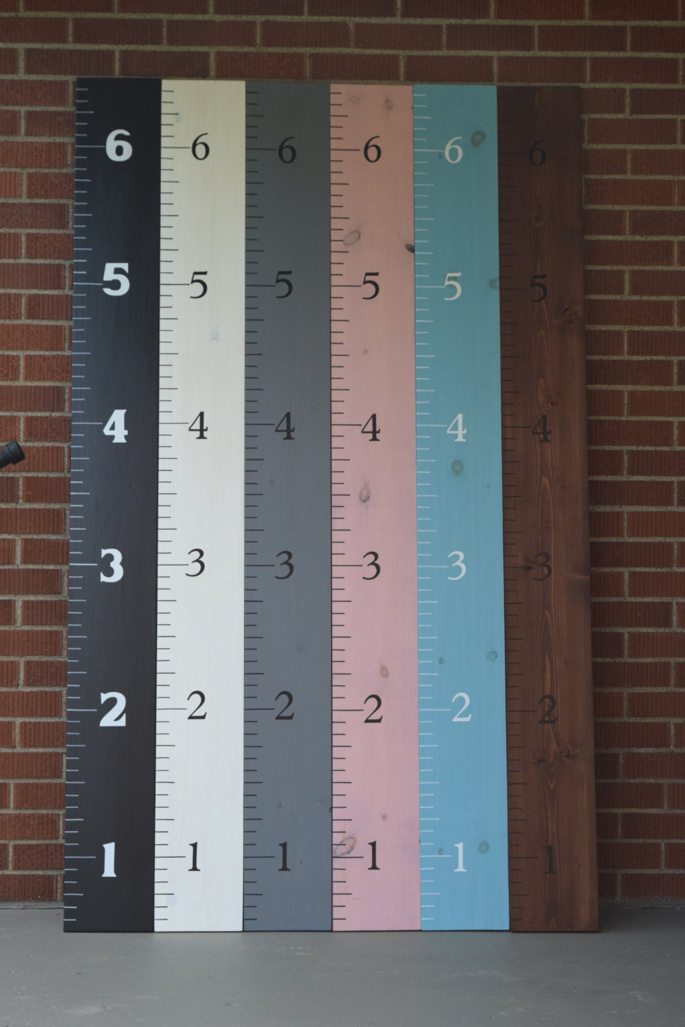 Wooden Growth Chart Ruler 8 Wide Wood Growth Chart