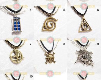 Fandom Charm Necklaces
