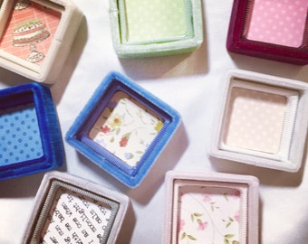 Ring Box Tops Inside Add-On Decorative Paper Decor