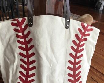 Canvas Baseball Bag