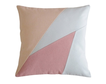 Rose colored pillows Etsy