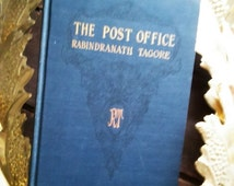 """1916 Edition """"The Post Office"""" by Rabindranath Tagore Published by MacMillian Company of New York / Antique / Play / Literary Gifts"""