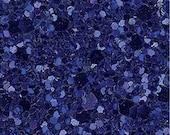 Glitter Fabric. Metallic Royal Blue. A4 sheet. JR04957