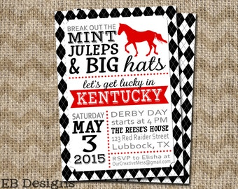 Horseshoe Drink Stirrer Kentucky Derby Party Western Party