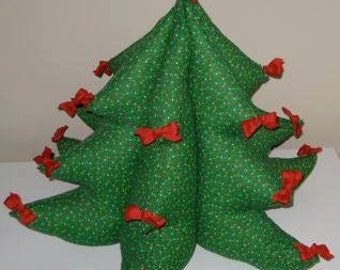 soft sculture Christmas tree