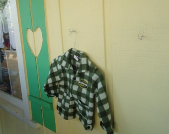 Boy, or Girl Unique little Green checkered Jacket