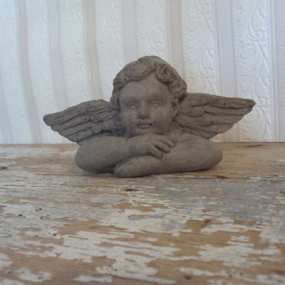 concrete windowsill cherub cast stone wall by