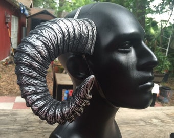 """Ram Horns, """"Cyberpunk"""""""