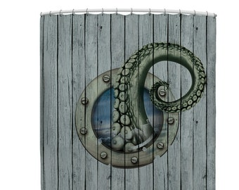 Octopus bathroom | Etsy