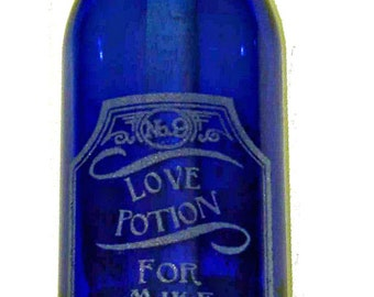 Message In A Bottle Love Potion Number 9 Romantic Gift Message In A Bottle Gift With Free Engraving Valentines Day Gift