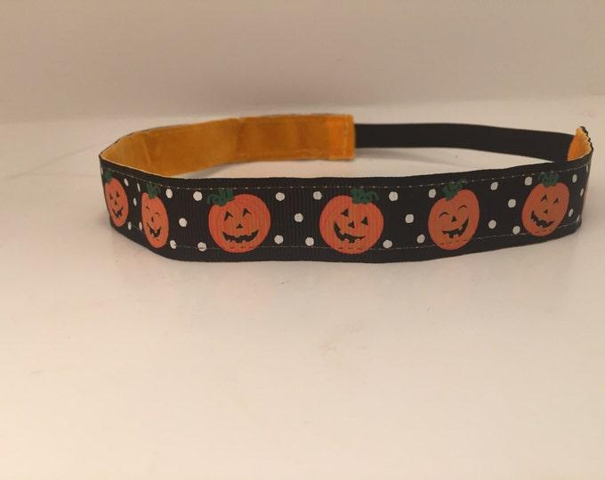Nonslip Headband Great Pumpkin