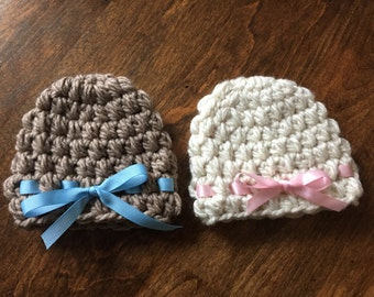 Bow Baby Hat