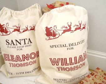 Personalised Christmas Sack - christmas sack