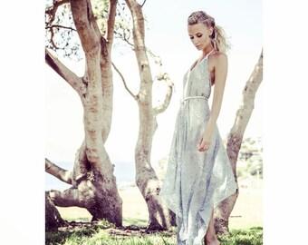 Sky Sundancer Halter dress, Bohemian Wedding