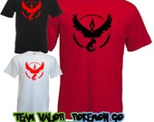 Pokemon Go Team Valor T Shirt