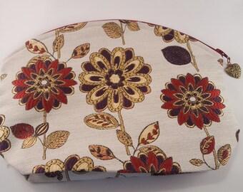 Louisburg Arc Project Bag, Flower Power fabric
