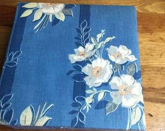 SALE - Fabric Floral Storage Box