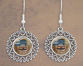 New Orleans Mask Earrings - 57877