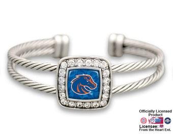 Boise State Broncos Square Cuff Bracelet - BSU472733