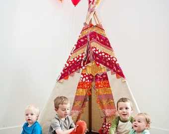 BOY TEEPEE,dinosaur teepee , childrens teepee, teepee tent, kids tent, playhouse, play teepee, teepee, kids play tent, 6ft
