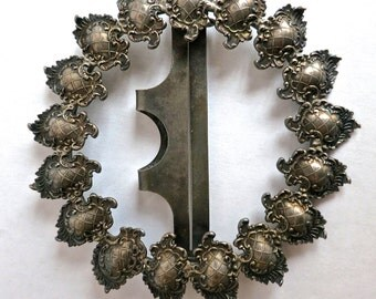 Antique Sterling Silver Buckle