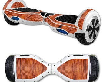 Skin Decal Wrap for Self Balancing Scooter Hoverboard unicycle Knotty Wood
