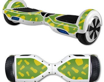 Skin Decal Wrap for Self Balancing Scooter Hoverboard unicycle Pineapple Print