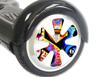 Skin Decal Wrap for Hoverboard Balance Board Scooter Wheels Loud Graffiti