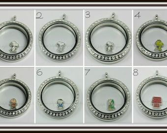 Snoopy / Peanuts Floating Charm for Glass locket / Floating Locket / Memory Locket