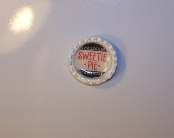 Sweetie Pie Bottlecap Magnet