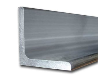 "6061-T6 Aluminum Structural Angle 2"" x 2"" x 12"" (1/4"")"