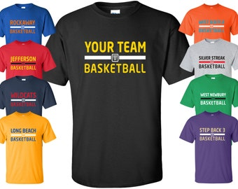 """New Custom """"Your Team"""" Basketball Shirt 