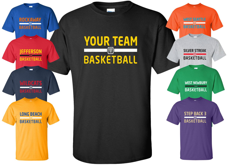 New custom your team basketball shirt available for Custom t shirts for teams