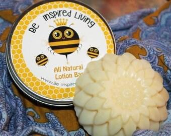 FREE SHIPPING! Hard Lotion Bar with Beeswax - Solid Lotion Bar All Natural - Bridesmaid Gift