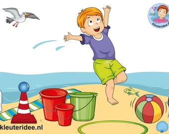 12 Beachgames for kids