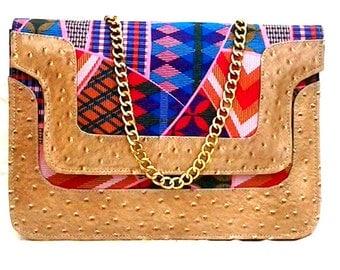 Elizabeth Beige Handbag By Dimask DMK