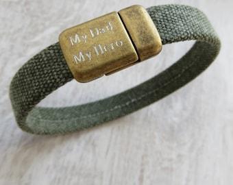 Personalised Cotton Cord Bracelet