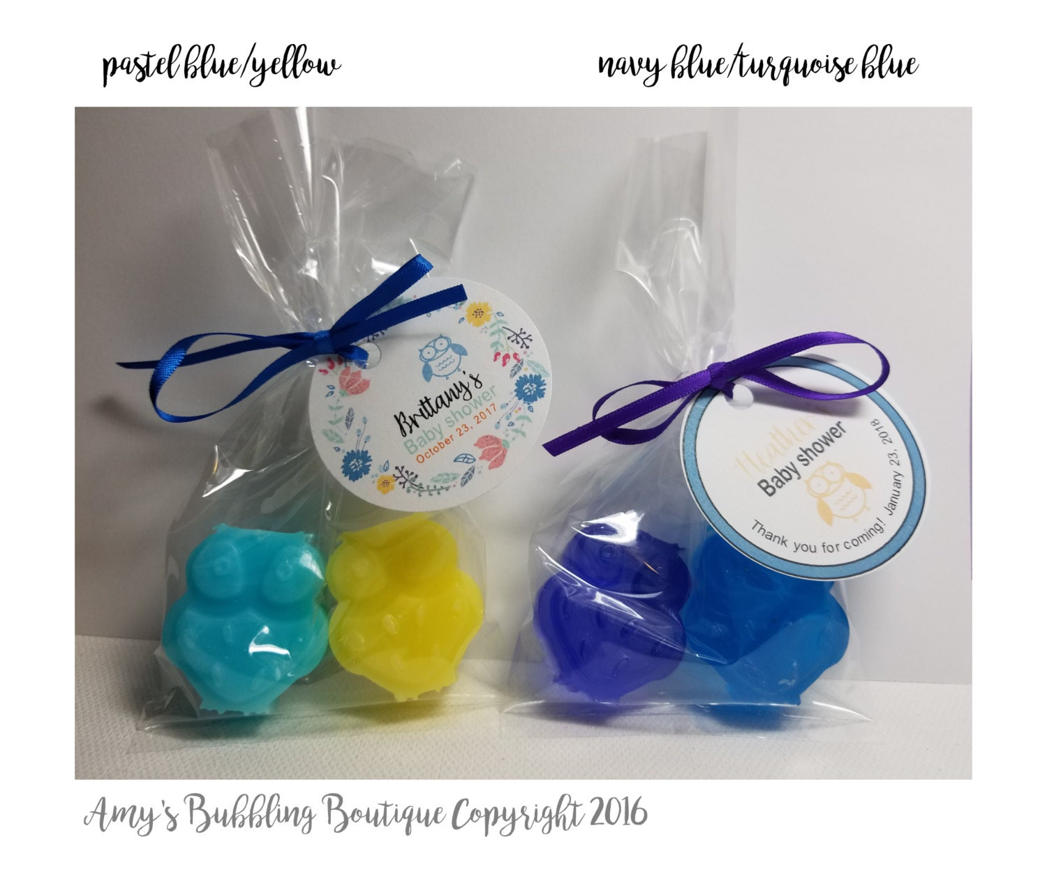owl baby shower soap party favors gender reveal baby shower