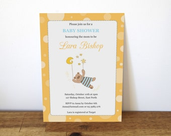 Baby shower invite - printable