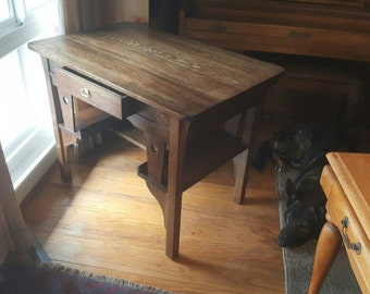 Antique Craftsman style work table