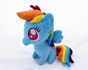 My Little Pony Chibi Rainbow Dash Plush by PlanetPlush