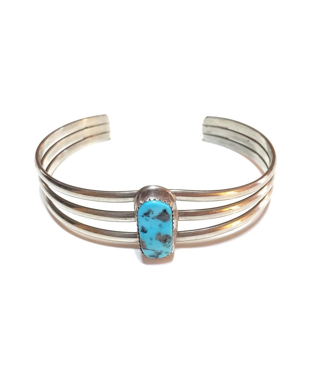 navajo cuff bracelet turquoise silver cuff american