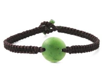 Canadian Nephrite Jade Bracelet - 2809